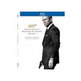 Daniel Craig Bond-gyűjtemény (Casino Royale, A Quantum csendje, Skyfall) (3 Blu-ray)