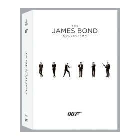 James Bond: A teljes gyűjtemény (új kiadás) (23 DVD)