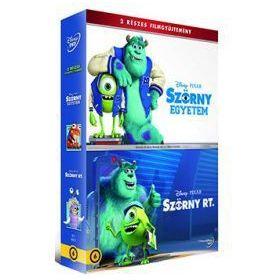 Szörny Rt. + Szörny Egyetem gyűjtemény (2 DVD)