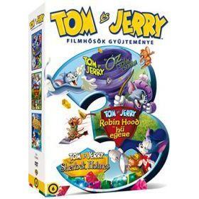Tom és Jerry: Filmhősök gyűjteménye (3 DVD)