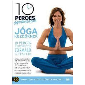 10 perces gyakorlatok: Jóga kezdőknek (DVD)
