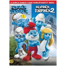 Hupikék törpikék / Hupikék törpikék 2. (2 DVD) (Twinpack)