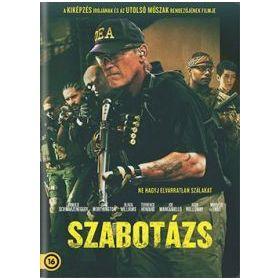 Szabotázs (2014) (DVD)