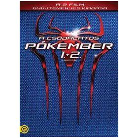 A csodálatos pókember 1-2. (2 DVD)