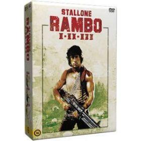 Rambo trilógia (3 DVD)