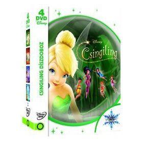Csingiling gyűjtemény: Négy tündéri film Csingilinggel *Fehér dobozban* (4 DVD)