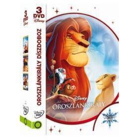 Az oroszlánkirály díszdoboz (3 DVD)