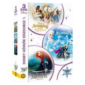 Disney hősnők díszdoboz 1. (Disney varázslatos karácsonya-sorozat) (3 DVD)
