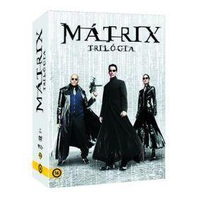 Mátrix trilógia (3 DVD)