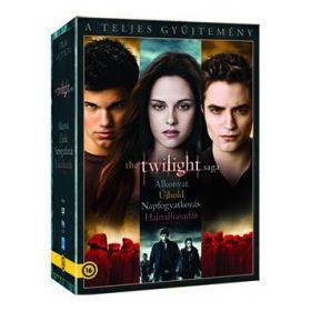 The Twilight Saga (Alkonyat) - A teljes gyűjtemény (5 DVD)