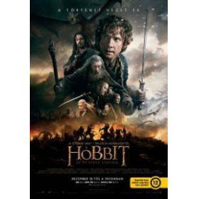 A hobbit: Az öt sereg csatája - duplalemezes, extra változat (2 Blu-ray) (20250)