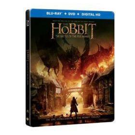A hobbit: Az öt sereg csatája - duplalemezes, fémdobozos változat (steelbook) (2 Blu-ray) (20298)