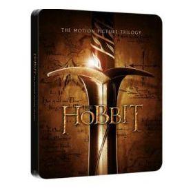 A hobbit trilógia - fémdobozos változat (jumbo steelbook) (moziváltozatok gyűjteménye, 6 Blu-ray)