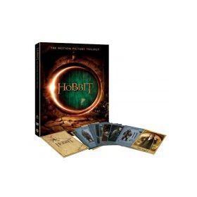 A hobbit trilógia (moziváltozatok gyűjteménye, 6 DVD) + 18 gyűjthető karakterkártya