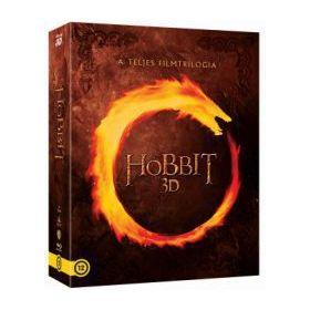 A hobbit trilógia - moziváltozatok gyűjteménye (6 3D Blu-ray + 6 Blu-ray) *20625*