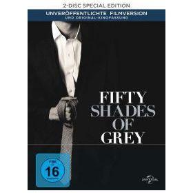 A szürke ötven árnyalata (bővített- és moziváltozat) - limitált, digibook változat (DVD)