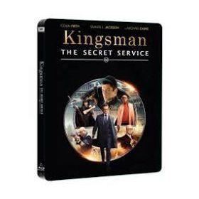 Kingsman: A titkos szolgálat - limitált, fémdobozos változat (steelbook) (Blu-ray)