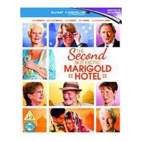 Keleti nyugalom - A második Marigold Hotel (Blu-ray)