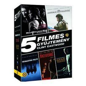 Clint Eastwood gyűjtemény (5 DVD)