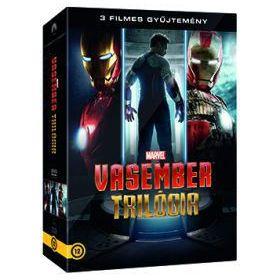Vasember gyűjtemény (Vasember 1-3.) (3 DVD)