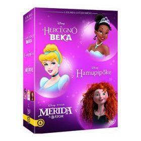 Disney hősnők díszdoboz 4. (3 DVD)