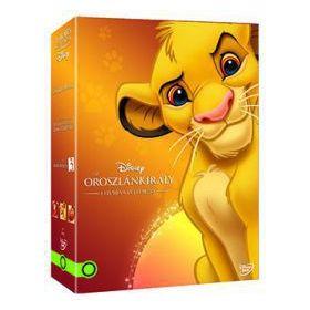 Az oroszlánkirály díszdoboz (új kiadás) (3 DVD)