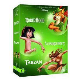 Disney klasszikusok gyűjtemény 4. (3 DVD)
