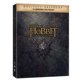 A hobbit: Az öt sereg csatája - bővített, extra változat (5 DVD) (limitált, digipackos verzió) *21844*