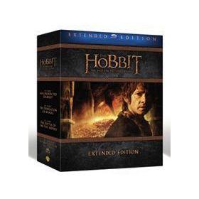 A hobbit trilógia (bővített változatok gyűjteménye (9 Blu-ray) *21813*