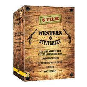 Western gyűjtemény (8 DVD)