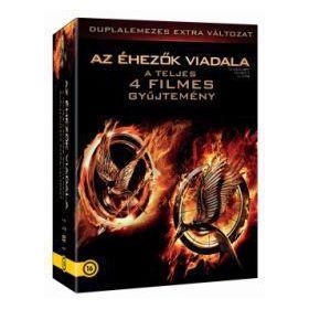 Az éhezők viadala 1-4 gyűjtemény (8 DVD) *Extra változat*