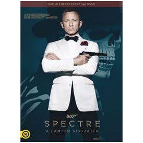 James Bond - Spectre - A Fantom visszatér - duplalemezes, extra változat (2 DVD)