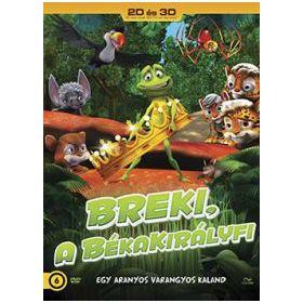 Breki, a békakirályfi (DVD) *2D-3D DVD*