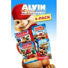 Alvin és a mókusok 1-4. gyűjtemény (4 DVD)