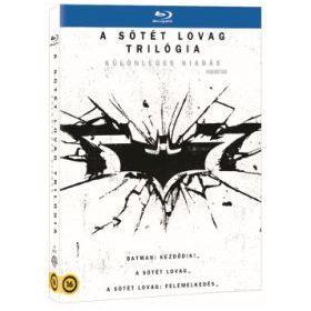 A sötét lovag trilógia - különleges kiadás (5 Blu-ray + 1 DVD)