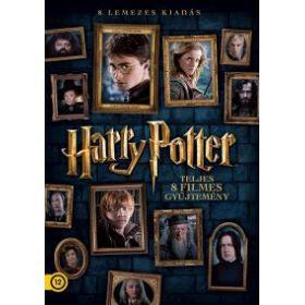 Harry Potter: A teljes gyűjtemény (8 DVD) *Új változat képes ajándékokkal*