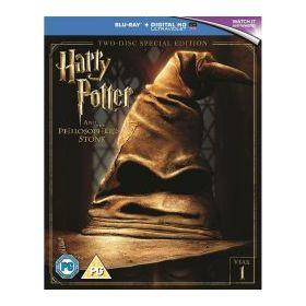Harry Potter és a bölcsek köve (kétlemezes, új kiadás - 2016) (BD+DVD)