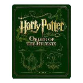 Harry Potter és a főnix rendje - limitált, fémdobozos változat (steelbook) (BD+DVD)