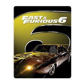 FF6: Halálos iramban 6. (mozi- és bővített változat) - limitált, 2017-es fémdobozos változat (steelbook) (Blu-Ray)