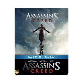 AssassinS Creed  (BD3D+BD)- limitált, fémdobozos változat (steelbook) (Blu-Ray)