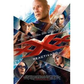 xXx: Újra akcióban  (3D Blu-ray) limitált, fémdobozos változat (steelbook)