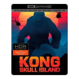 Kong: Koponya-sziget (4K UHD Blu-ray + Blu-ray)