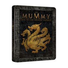 A múmia 3. - A Sárkánycsászár sírja - limitált, fémdobozos változat (steelbook) (Blu-ray)