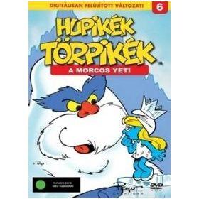 Hupikék törpikék 6. - A morcos Yeti (DVD)
