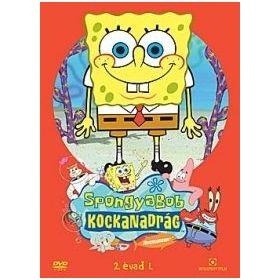 SpongyaBob Kockanadrág 1. (új sorozat, új részekkel)(DVD)