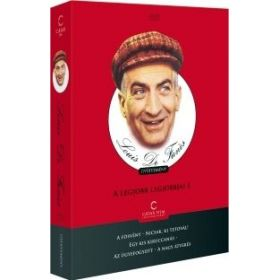 Louis De Funes gyűjtemény - A legjobb legjobbjai 1. (5 DVD)
