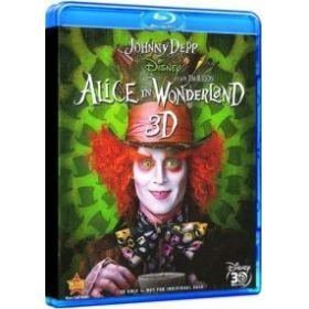 Tim Burton - Alice Csodaországban (3D Blu-ray + BD)