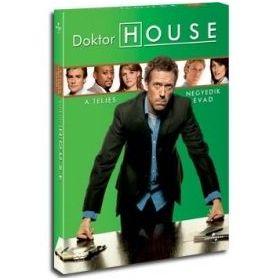 Doktor House 4. Évad (4 DVD)