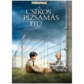 A csíkos pizsamás fiú (DVD)