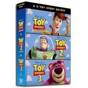 Toy Story trilógia (3 DVD)
